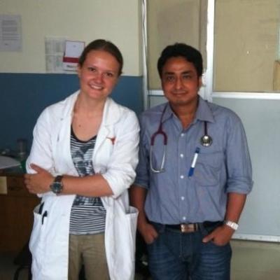 Mees M in Nepal